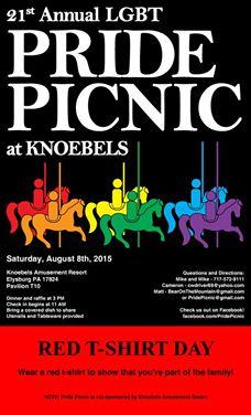 21st Annual Pride Picnic at Knoebels @ Knoebels Grove