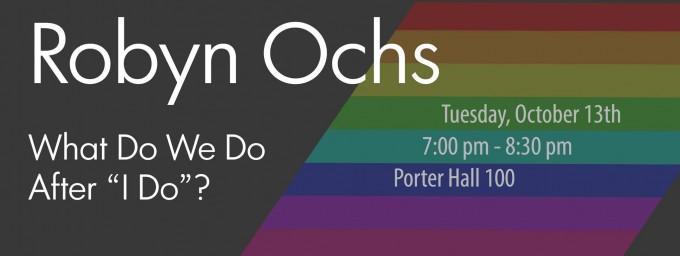 CMU: Robyn Ochs @ Carnegie Mellon University - Porter Hall 100