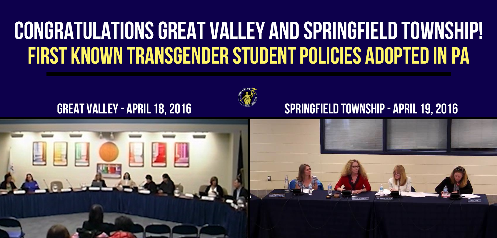 Great Valley + Springfield Adopt First Known Trans Policies in PA