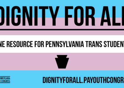 Trans Student Resource Launched for Pennsylvania Schools