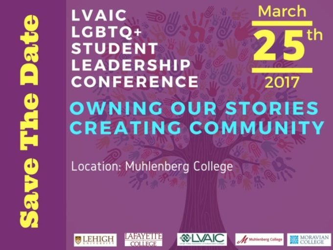 LVAIC LGBTQ+ Student Leadership Conference @ Muhlenberg College | Allentown | Pennsylvania | United States