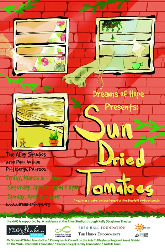 Pittsburgh: Sun Dried Tomatoes @ KST Alloy Studios | Pittsburgh | Pennsylvania | United States