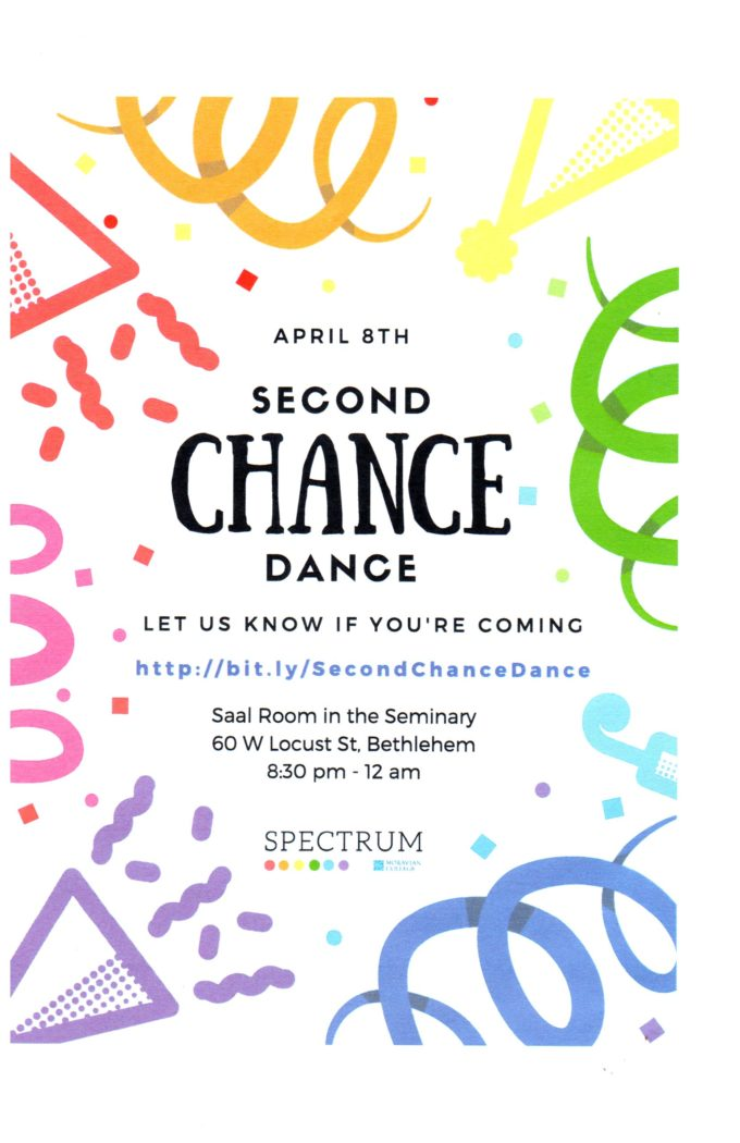 Moravian: Second Chance Dance @ Moravian College | Bethlehem | Pennsylvania | United States