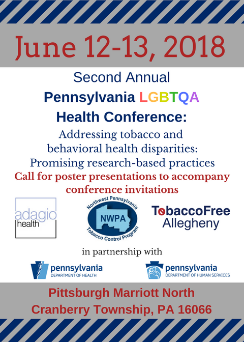 Second Annual PA LGBTQA Health Conference @ Pittsburgh Marriott North | Cranberry Township | Pennsylvania | United States