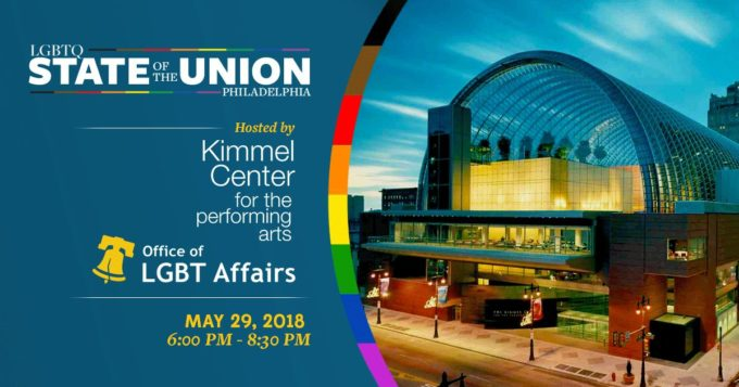 Philadelphia: LGBTQ State of the Union @ Kimmel Center | Philadelphia | Pennsylvania | United States
