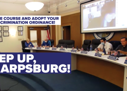 The Fight for a Nondiscrimination Ordinance in Sharpsburg Has Only Begun